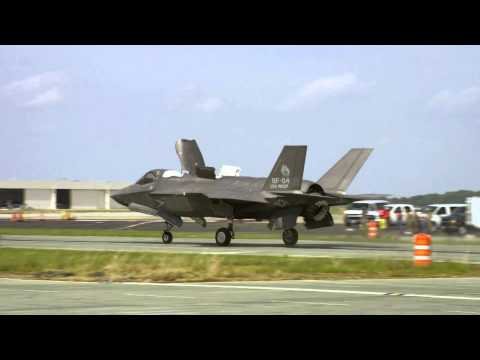 F-35B Conducts First Ski-Jump Launch