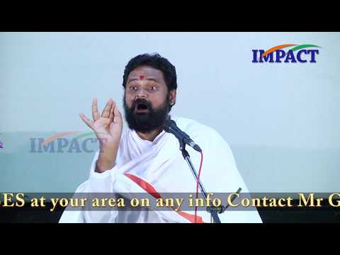 Purity In Action | Jagan Guruji | TELUGU IMPACT Warangal 2017