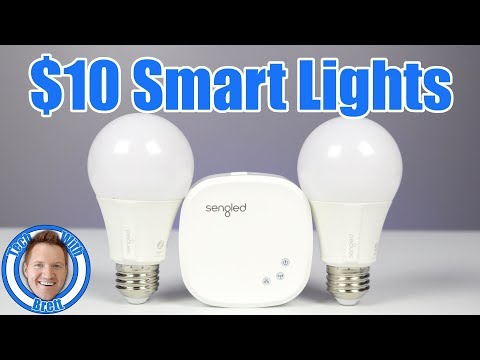Smart Home Lighting on a Budget | Sengled Lights Best Tutorial