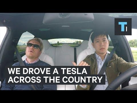 We drove the electric Tesla Model X across America