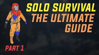 RUST SOLO SURVIVAL GUIDE | EP 1
