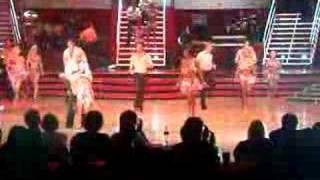 Footloose dancing with the stars tour Anya katsevman