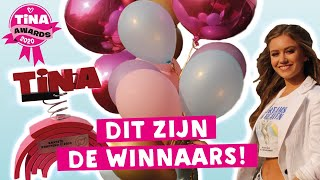 UITREIKING TINA AWARDS 2020! | TINA AWARDS | TinaTV
