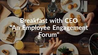 EFS' Breakfast With CEO – An Employee Engagement Forum