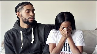 STD PRANK ON BAE| I SLEPT WITH ANOTHER MAN ! HE GETS SO MAD!