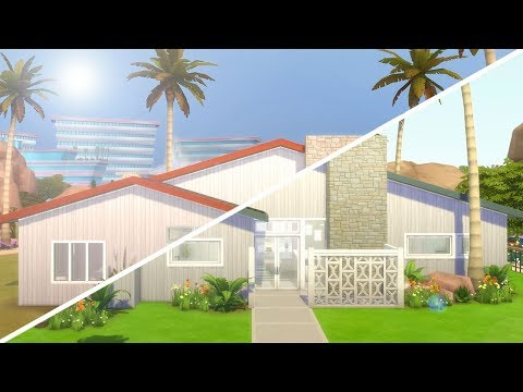 SPRINGSCAPE // The Sims 4: Fixer Upper - Home Renovation