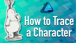 How to Trace a Character in Affinity Designer