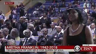 Stevie Wonder - As (Live) Aretha Franklin's Funeral