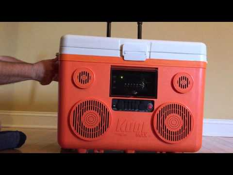 KoolMAX Tunes2Go Bluetooth Speaker Cooler Stereo System: REVIEW