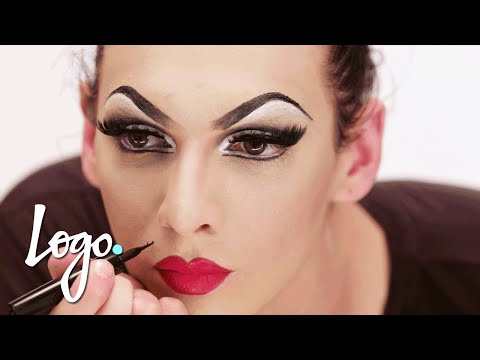 RuPaul's Drag Race | RuVealing Violet Chachki 'Leather and Lace Runway' Makeup Tutorial | Logo