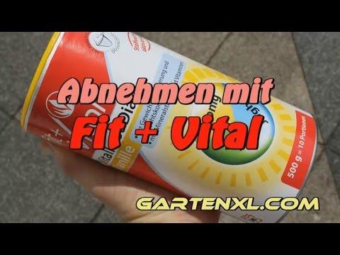 Abnehmen mit Fit + Vital Diät Vitalkost Vanille von Müller: Zubereitung, Anwendung, Test