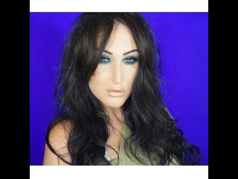 SMOKEY GREEN EYE FALL MAKEUP TUTORIAL TALK THROUGH
