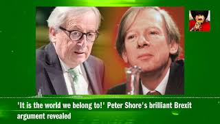 'It is the world we belong to!' Peter Shore's brilliant Brexit argument revealed