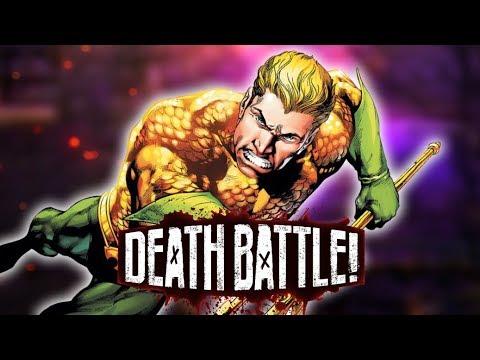 Aquaman Dives into DEATH BATTLE!
