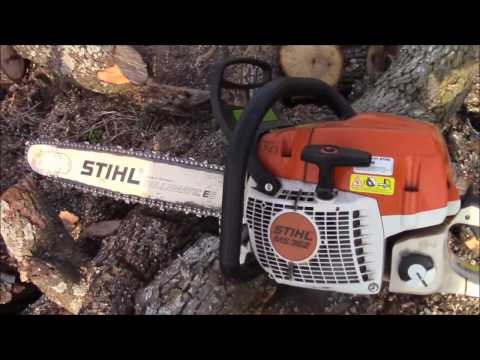 Stihl chainsaw review MS362