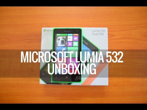 Microsoft Lumia 532 Unboxing