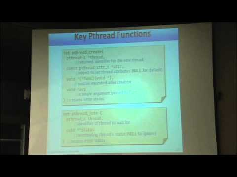 Lecture 12: Multicore Programming   Video Lectures