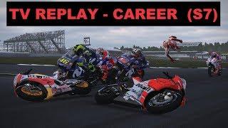 MotoGP Mod 2018 | Career #122 | BritishGP | Race 12/18 | TV REPLAY