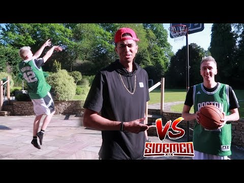 IMPOSSIBLE 1v1 BASKETBALL CHALLENGE! vs. Miniminter [PAINFUL FORFEIT]