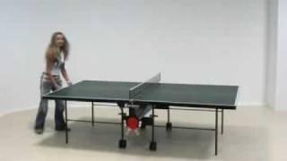 "Sponeta Tischtennisplatte ""Hobby"" 1-12 i (Feinspanplatte 19mm/nicht wetterfest)"