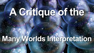 A Critique of the Many Worlds Interpretation