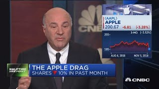 Kevin O'Leary says it's going to take a lot for him to invest in Apple again