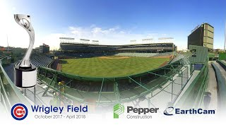 Wrigley Field Renovation 4K Time-Lapse by EarthCam