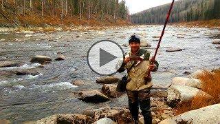 Рыбалка в сибири на хариуса осенью