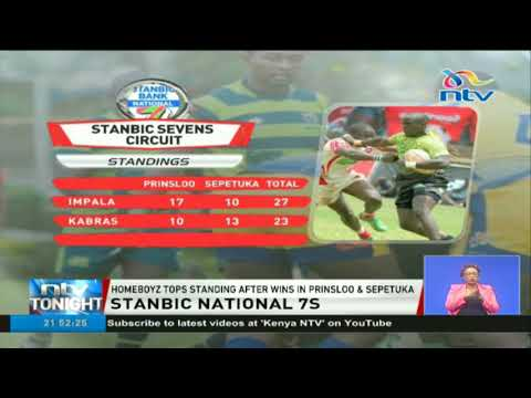 Stanbic national 7s: Homeboyz tops standing after wins in Prinsloo and Sepetuka