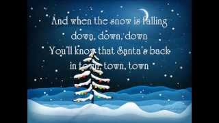 Backstreet Boys - It's Christmas time again (Lyrics on screen)
