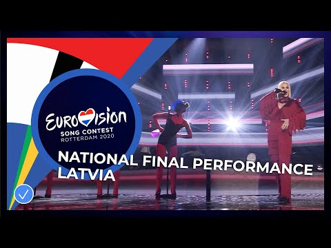 Samanta Tīna - Still Breathing - Latvia 🇱🇻 - National Final Performance - Eurovision 2020