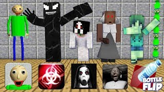 Monster School : SEASON 1 ALL EPISODE - Minecraft Animation