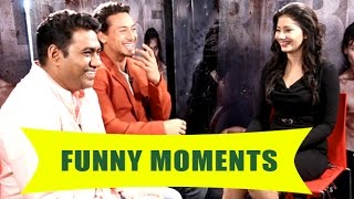 Baaghi - Tiger Shroff's FUNNY Behind The Scenes Moments With Pankhurie