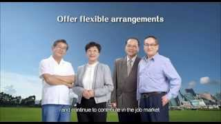 Offer flexible arrangements  Promote employment of mature persons