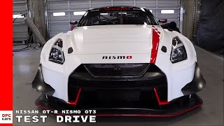 2018 Nissan GT-R NISMO GT3 Test Drive Shakedown