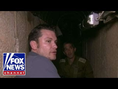 Pete Hegseth explores the terror tunnels found in Israel