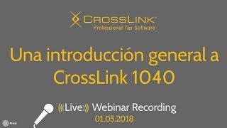 CrossLink 2018: Una introducción general al programa