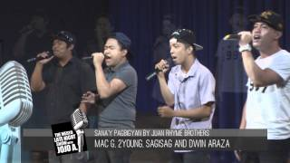 JUAN RHYME - LIVE @ GMA7's The Medyo Late Night Show with Jojo A.