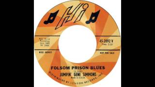 Jumpin' Gene Simmons - Folsom Prison Blues (Johnny Cash Cover)