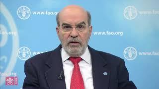Graziano da Silva: Papa é um grande inspirador na luta contra a fome