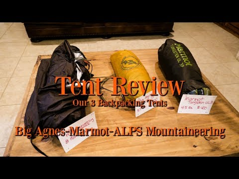 Tent Review-Big Agnes Marmot Alps Mountaineering