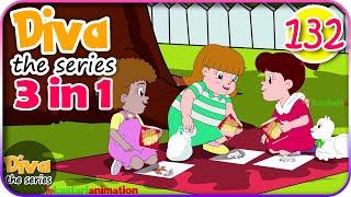 Seri Diva 3 In 1 | Kompilasi 3 Episode ~ Bagian 132 | Diva The Series Official