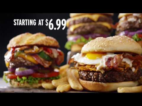 YouTube: 100% Beef Burgers Starting At $6.99