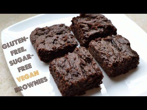 Video Gluten-Free, Sugar-Free Vegan Brownies