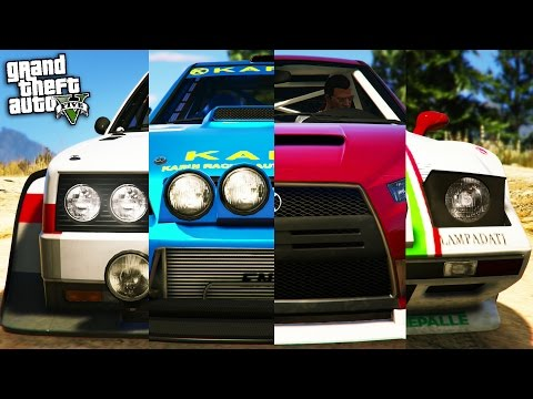 GTA Online: Fastest Rally Car - Omnis Vs Tropos Vs Kuruma Vs Sultan RS! (GTA 5 Best Rally Car)