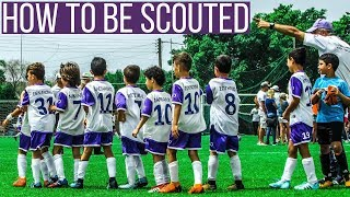 How To Impress Scouts In Football