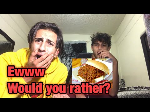 NASTIEST WOULD YOU RATHER CHALLENGE EVER WITH LITTLE BROTHER! Omg so gross