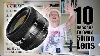 50mm DSLR lens - 10 Reasons Why Every Photographer Needs One