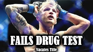 TJ Dillashaw Fails Drug Test and Vacates Title!!! What happens now?