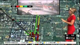Phoenix weather (KPNX-TV) - September 8, 2014 storm coverage